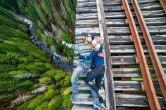 Tory kolejowe w Waszyngtonie, USA  Czytaj dalej na: http://viralowo.pl/artykul/14356-18-zdjec-na-przekor-smierci-pr.html12