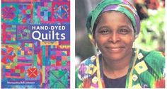 """""""Hand-Dyed Quilts"""" by sistah quilter and self-taught artist Marquetta Bell Johnson. 2008."""