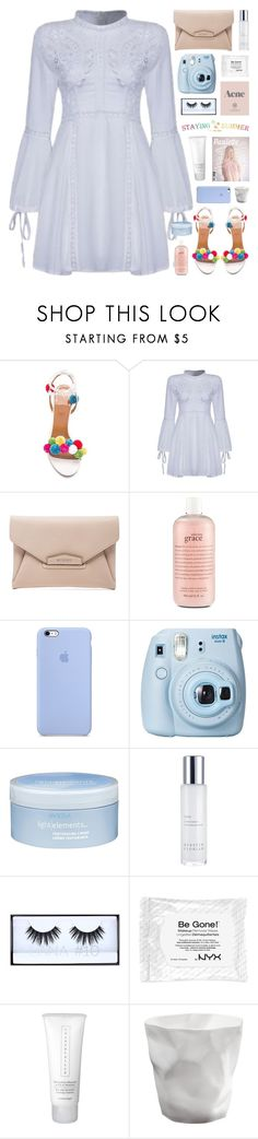 """STAYING🌴SUMMER"" by novalikarida ❤ liked on Polyvore featuring Givenchy, Prada, philosophy, Fujifilm, Aveda, Kerstin Florian, Huda Beauty, Chantecaille, summerstyle and summer2016"