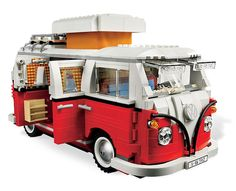 1962 VW Camper Made Entirely from LEGOs