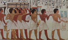 ancient egyptian toilets | March of History: Life in Egypt-through the eyes of the Artist