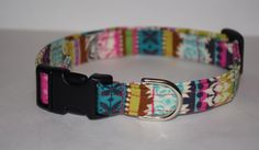 Moroccan Dog Collar Moroccan Mosaic Dog Collar by PawesomePups