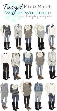Kohl's Spring Capsule Wardrobe – Mix and Match Outfits   Everyday Savvy   Bloglovin'