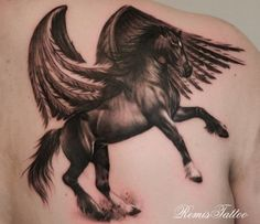 The only cool looking Pegasus tattoo I've seen so far.