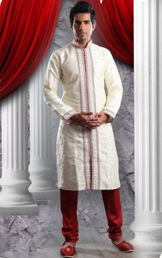 Indian Groom Wedding Sherwani Designs  2014