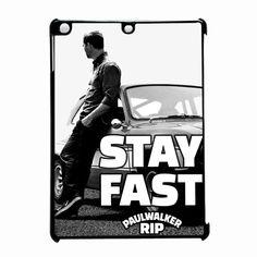 Stay Fast Paul Walker iPad Air Case