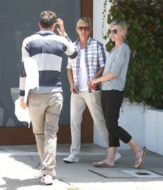 Portia de Rossi Photos Photos - Talk show host Ellen DeGeneres and her wife Portia Lee James DeGeneres (who was sporting a much shorter hairstyle than usual) are spotted out walking hand in hand in West Hollywood, California on June 6, 2012. - Ellen & Portia Step Out In West Hollywood