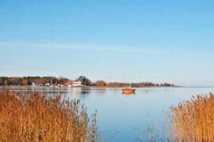 Kokkola Old harbour bay. Central Ostrobothnia province of Western Finland - Keski-Pohjanmaa