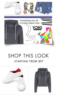 """""""#SuperDuperCuteYoins"""" by juromi ❤ liked on Polyvore featuring yoins, yoinscollection and loveyoins"""