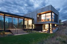 Aspen retreat by CCY Architects via onreact