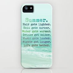 Now this case goes to the beach with me. End of story. Yummy.