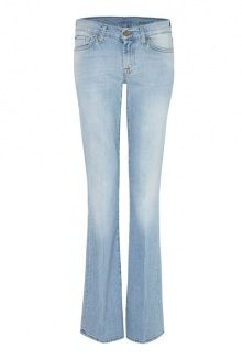 7 For All Mankind bootcut light washed denim jeans