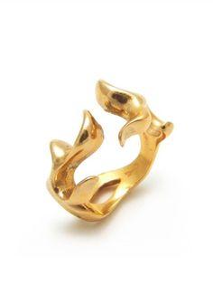 Simona Materi Ring in bronze from Fantasy Design Collection