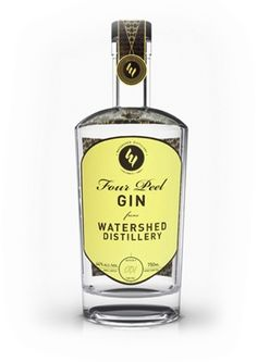 "Watershed Distillery Four Peel Gin #gin   www.LiquorList.com  ""The Marketplace for Adults with Taste"" @LiquorListcom   #LiquorList"