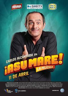 Asu mare best movie ever but its in spanish but i understood everything!! yay  :)  with carlos alcantara
