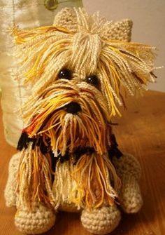 Yorkie Terrier FREE Crochet Pattern