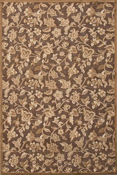 Jaipur Fables Lucie Chenille Light Brown Transitional Rug