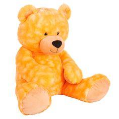 "Babies R Us Plush 22 inch Jumbo Bright Tip Dyed Bear - Orange - Babies R Us - Toys ""R"" Us"