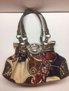 kathy van zeeland Croc multicolor purses hand bag shoulder bag tote Multi  pocket   eBay Kathy 11a4e2229614