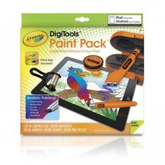 Crayola DigiTools Paint Pack for iPad, iPad mini, or Android Touch Tablets