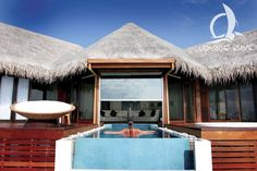 Huvafen Fushi Resort Maldives: relax and enjoy!
