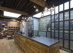 Timberland flagship store by Dalziel+Pow, London – UK