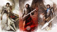Supernatural - Angels by theDURRRRIAN.deviantart.com on @deviantART