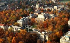 Indiana University *Bloomington - pretty fall shot