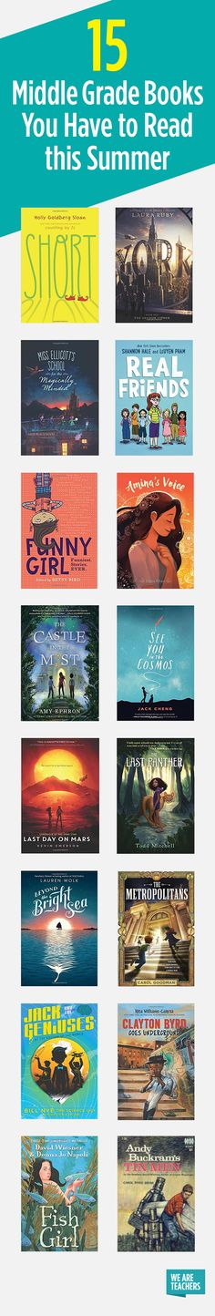 15 Middle Grade Books You Have to Read this Summer - WeAreTeachers