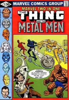 Super-Team Family: The Lost Issues!: The Thing and The Metal Men