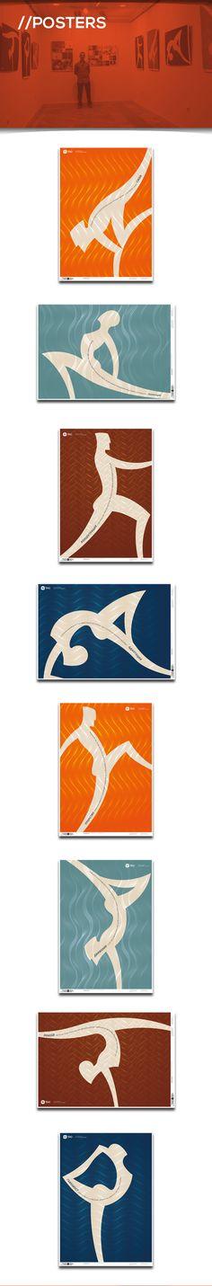 TAO - yoga and eastern practices club by Alex Petrov, via Behance Made by Alexander Petrov http://ignilibrium.com/