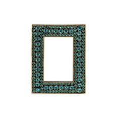 NOVICA Dazzling Aqua Photo Frame from India (4x6) (1.455 RUB) ❤ liked on Polyvore featuring home, home decor, frames, decor accessories, green, photo frames, green picture frames, 4x6 frames, novica and green home decor