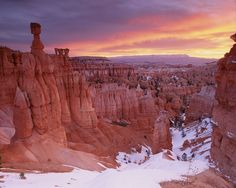 Sunrise from the Navajo Trail