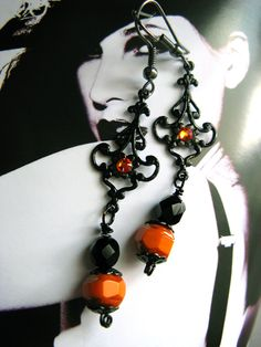 Earrings for halloween by ~Verope~Want!