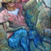 Evening in the High Sierras by janna zuber Still Life, Landscape Paintings, African, Abstract, Gallery, Floral, Artist, Outdoor, Couple