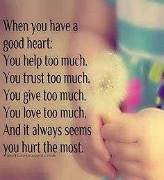 <3 having a good heart, but beyond tired of being taken advantage of...lucky I have such amazing friends xx