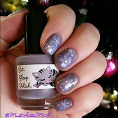 Eat Sleep Polish LE The Turtle and The Hare (Sex and the City collection) // @MadHatterMH // nailart //