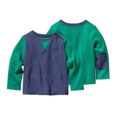 Soft just got softer: the Patagonia Baby Cozy Cotton Crew Sweatshirt is made with Fair Trade Certified organic cotton! #FairTrade #organic #apparel