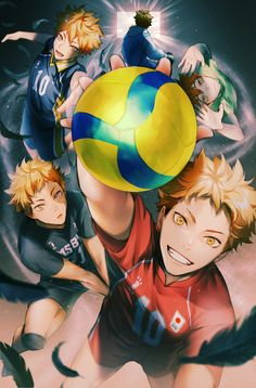 Manga Anime, Manga Haikyuu, Haikyuu Funny, Art Anime, Haikyuu Fanart, Fanarts Anime, Anime Characters, Hinata Shouyou, Haikyuu Karasuno
