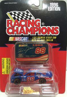 (TAS010380) - 1996 Racing Champions Die-Cast Car - #88 Dale Jarrett