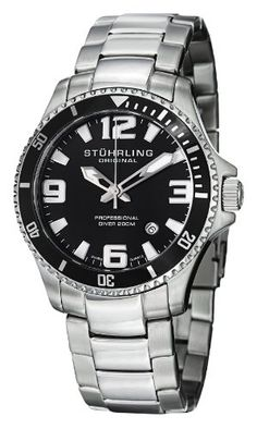 "Stuhrling Original Men's 395.33B11 ""Aquadiver Regatta Champion"" Stainless Steel Dive Watch Stuhrling Original $59.80 http://www.amazon.com/dp/B007Z0BUY8/ref=cm_sw_r_pi_dp_aZ8Ntb05WP0ZKVVG bookmark us please at www.webshoppingmasters.com/salter3811"