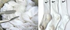 Szybka metoda na pranie białych skarpetek. Będą wyglądać jak nowe, bez wybielacza - Genialne Diy Cleaning Products, Cleaning Hacks, Diy And Crafts, Life Hacks, Food, Tips, Advice, Organization, Sport