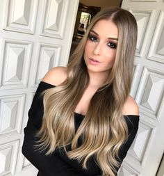 Rock Your Locks, Cabelo Ombre Hair, Ombré Hair, Beautiful Long Hair, How To Make Hair, Mi Long, About Hair, Bride Hairstyles, Cut And Color