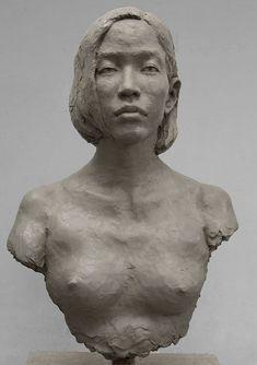 Sculpture Head, Human Sculpture, Ceramic Sculpture Figurative, Anatomy Sculpture, Art Folder, Clay Art, Oeuvre D'art, Ceramic Art, Art Lessons