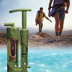 Portable Soldiers Hiking Camping Water Filter Purifier for Outdoor Survival UK