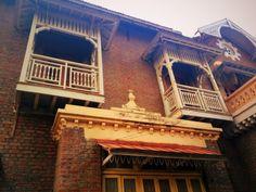 Aurobindo Ashram, Vadodara - That Girl's Life Stories Girls Life, Mansions, House Styles, Design, Mansion Houses, Manor Houses, Villas, Fancy Houses, Design Comics