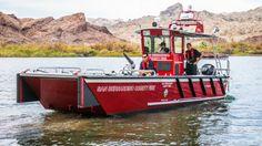 Lake Assault fireboat #FireBoat #RescueBoat #Fire #Apparatus #Firefighting #FireDept #Maritime #Setcom