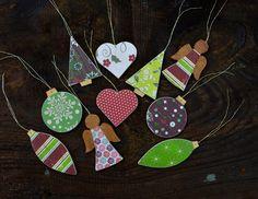 10 vánočních ozdobiček / Zboží prodejce by Angel Stylus, Washer Necklace, Angel, Jewelry, Jewellery Making, Jewerly, Style, Jewelery, Angels