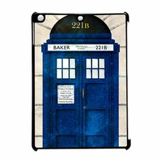 Doctor Who And Sherlock 221b iPad Air Case
