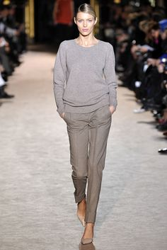 Grey #style #runway